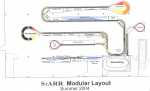 StARR Modular Layout Diagram - Summer 2004
